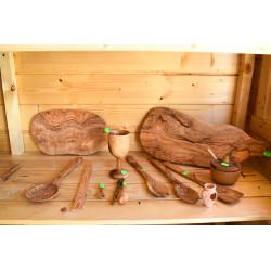 Obiecte lemn de maslin